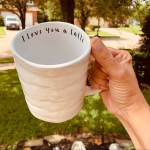 I love you a Latte' Coffee Mug kitchen home decor